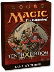MTG: Xth Edition - Kamahl's Temper